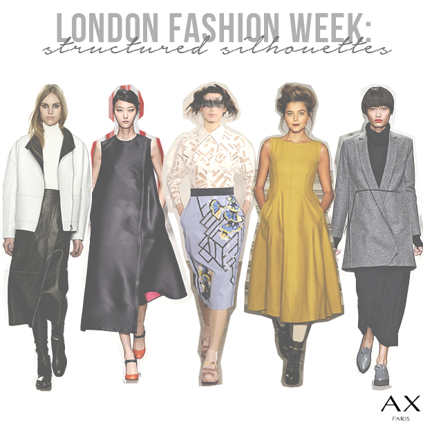 London-Fashion-Week-Structured-Silhouettes