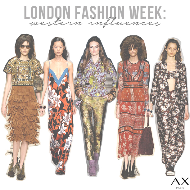 London-Fashion-Week-Western-Influences