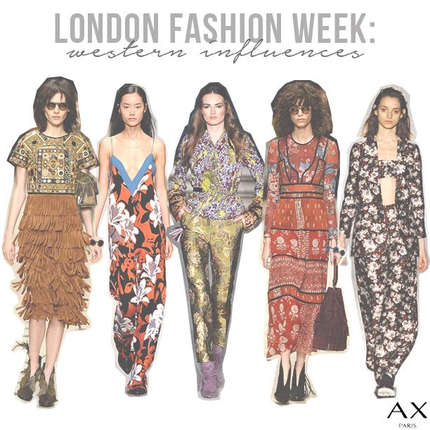 London-Fashion-Week-Western-Influences
